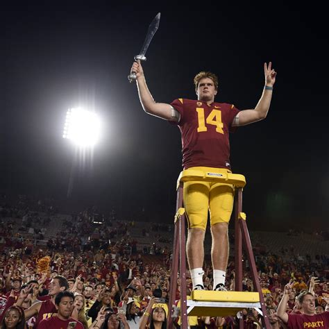 Old Soul  QB Sam Darnold Has Given Life to Resurgent USC ...