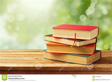 Old Vintage Books Over Bokeh Background Royalty Free Stock ...