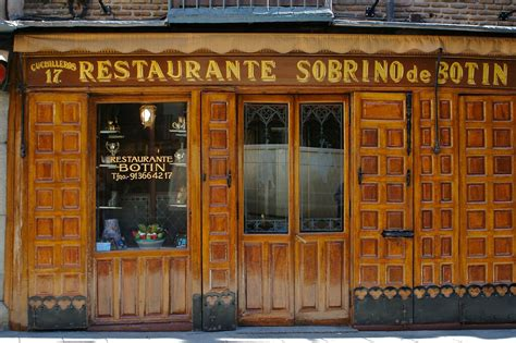 Oldest Restaurant In The World   Spain 2006: Madrid: The ...