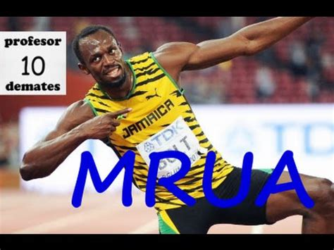Olimpíadas de Beijing, Usain Bolt MRUA ejercicios ...