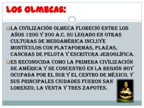 Olmecas, zapotecas y teotihuacanos