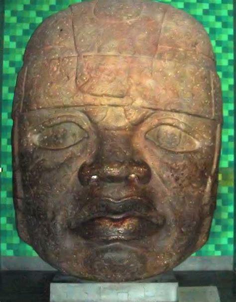 Olmeques. Enigme Olmèque. En Images. Dinosoria