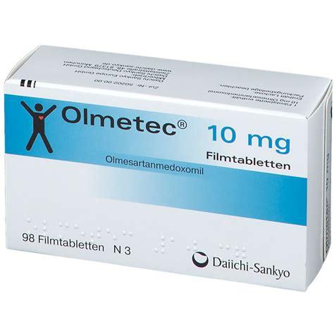 Olmetec 10 mg Filmtabl. 98 St   shop apotheke.com