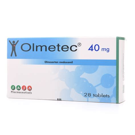 Olmetec 40 mg Tablet 28pcs