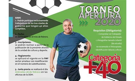 OM invita al Torneo de Apertura de futbol 2020 – Frontal ...