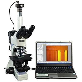 OMAX 40X 2500X Infinity   Microscopio digital trinocular ...