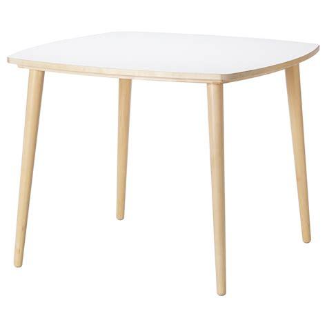 OMTÄNKSAM Mesa   blanco, abedul   IKEA