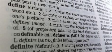 On Vocabulary: How to write a definition   Teach Like a ...
