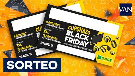 ONCE Cuponazo Black Friday | Resultado del sorteo especial ...