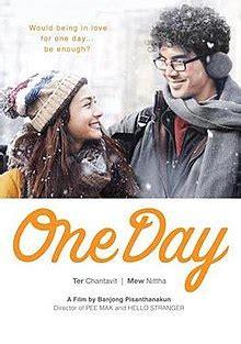 One Day  2016 film    Wikipedia