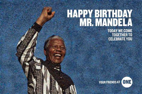 ONE | Happy Birthday, Nelson Mandela!
