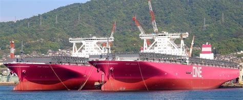 ONE Line announced 14K TEUS ship ONE STORK scheduled 1st ...