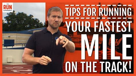 One Mile Run Track Race Tips   YouTube