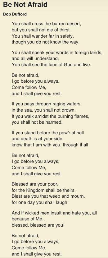 One of my favorites. | Catholic hymns, Hymns lyrics ...