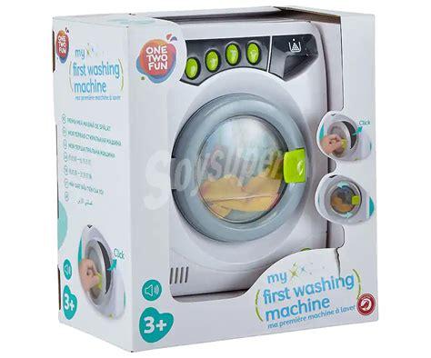 ONE TWO FUN ALCAMPO Mi lavadora secadora de juguete con ...