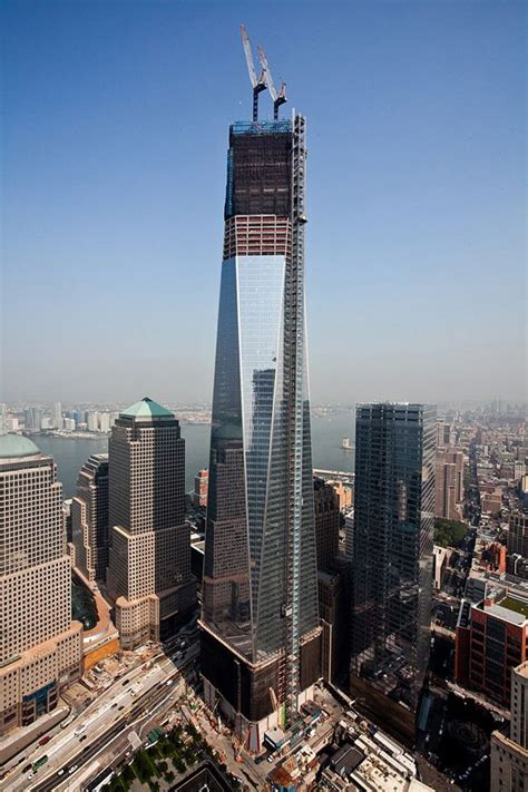 One World Trade Center in New York City Though it is under ...