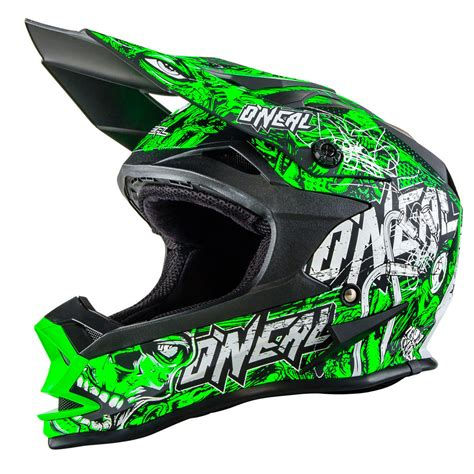 Oneal NEW 2017 Mx 7 Series Evo Menace Matt Neon Green ...