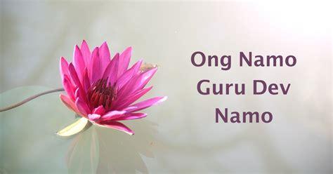 Ong Namo Guru Dev Namo – Música Mantra – Esquecer pra ...
