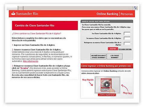 Online Banking Santander Río: la comodidad de operar en ...