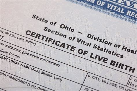 Online Birth Certificates in Ohio  OH    Foreign policy