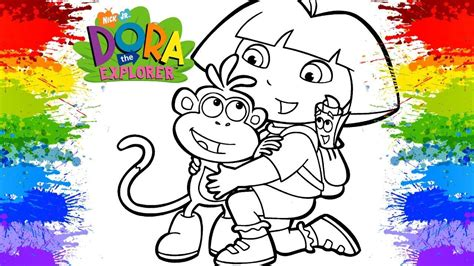 ONLINE COLORING Dora Coloring Games Dora the Explorer ...