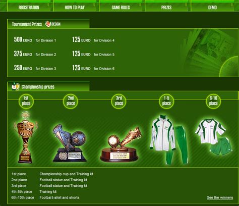 Online Football Manager   Browser Based Games