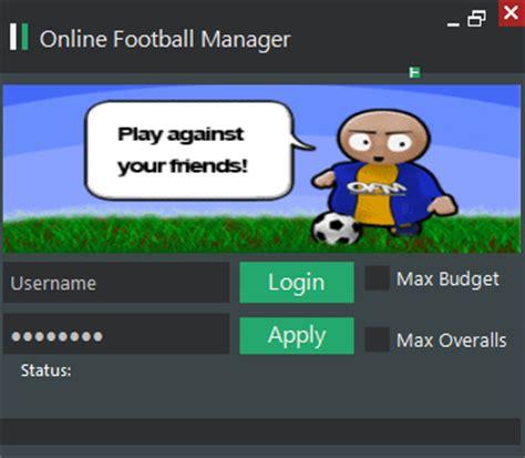 Online Football Manager Cheats
