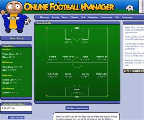 Online Football Manager   Online Games List