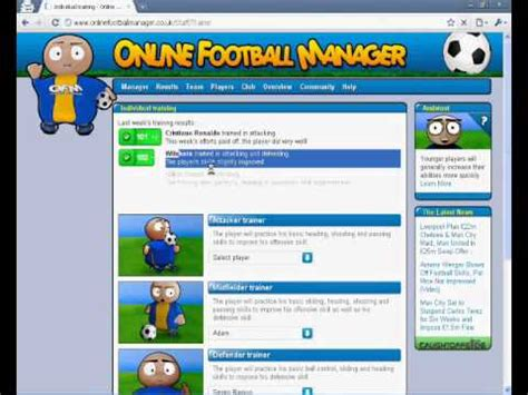 Online Football Manager  Tactics Awesome  100% Success ...