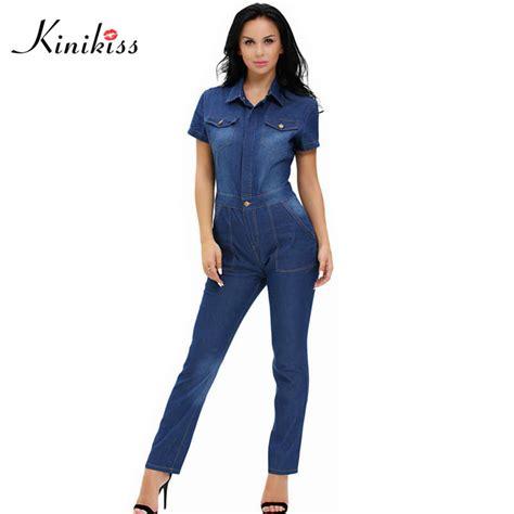 Online Get Cheap Blue Jean Jumpsuits  Aliexpress.com ...