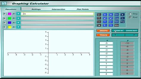 Online Graphing Calculator Tutorial   YouTube