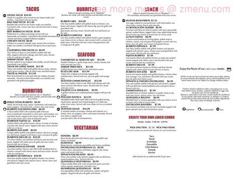 Online Menu of La Tolteca Express Restaurant, Edwardsville ...