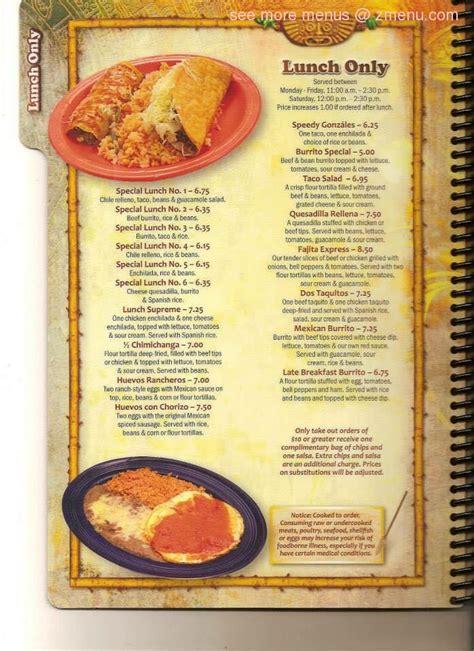 Online Menu of La Tolteca Restaurant, La Plata, Maryland ...