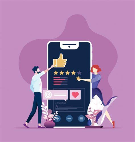 Online review | Premium Vector