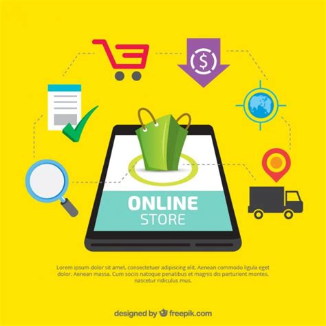 Online Shopping Vectors, Photos and PSD files | Free Download
