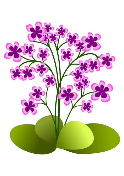 OnlineLabels Clip Art   Small Flowers