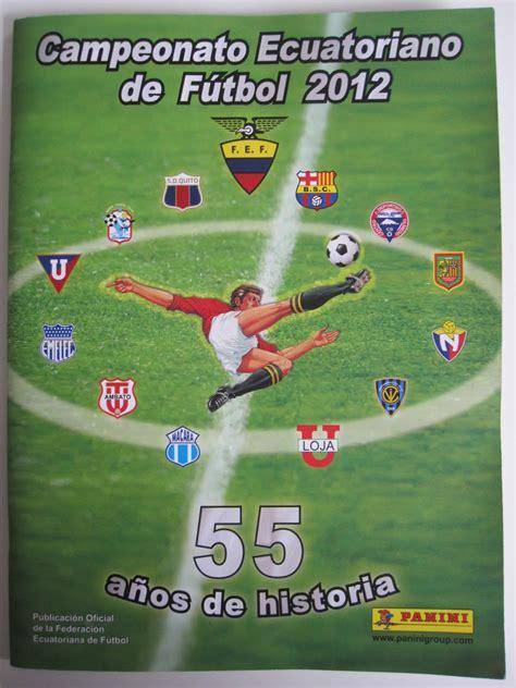 Only Good Stickers: Panini Campeonato Ecuatoriano de ...