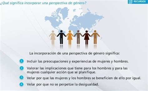ONU Mujeres México on Twitter:  ¿Qué significa incorporar ...
