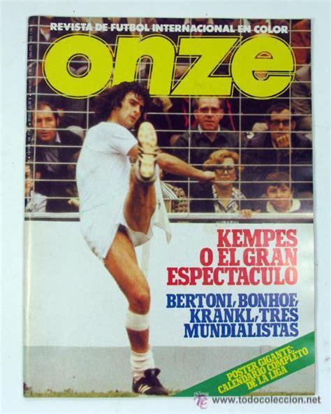 Onze. revista de futbol en español. nº 6 real m   Vendido ...