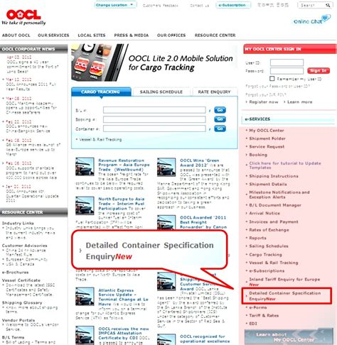 OOCL   500,000 Boxes' Detailed Container Specification Is ...