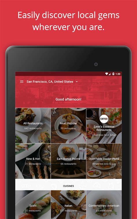 OpenTable: Restaurants Near Me   Android Apps on Google Play