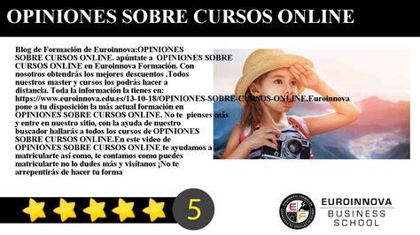 OPINIONES SOBRE CURSOS ONLINE   YouTube