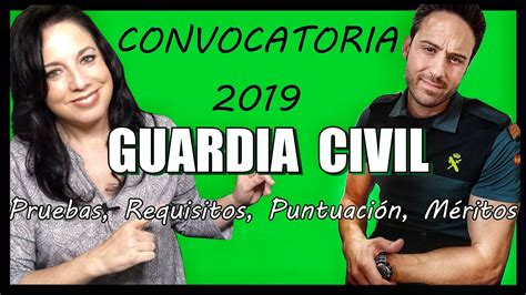OPOSICIONES GUARDIA CIVIL Convocatoria 2019   REPASANDO ...