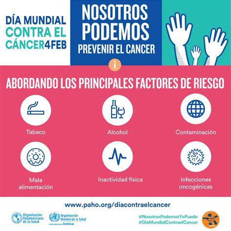 OPS/OMS   Día Mundial contra el Cáncer 2018   Información ...