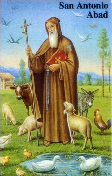 Oracion a SAN ANTONIO ABAD | San antonio abad, Oracion a ...
