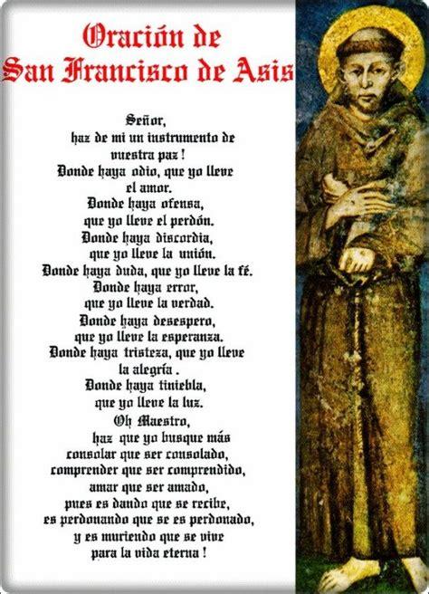 Oración a San Francisco de Asís para pedir un milagro ...