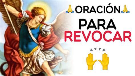 Oración A San Miguel Arcángel Para Revocación ️   YouTube