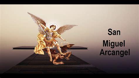 Oracion a San Miguel Arcangel   YouTube