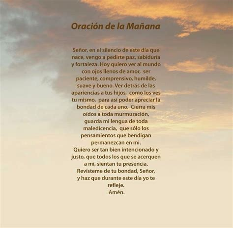 Oración de la Mañana | Diario Católico Laus Deo
