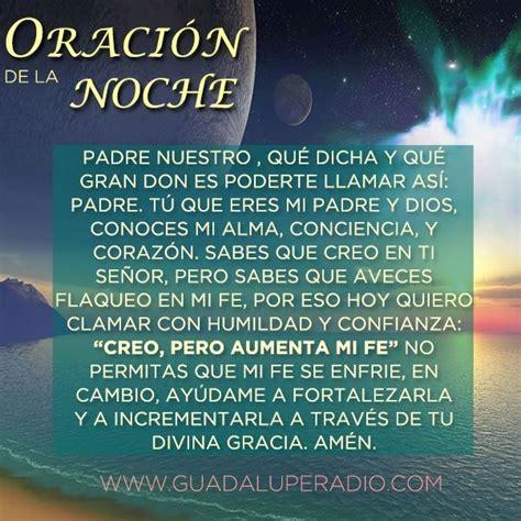 Oracion de la noche   ~Mensajes~   Pinterest   Fes and Dios